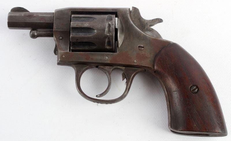 IVER JOHNSON TARGET MODEL 1900 .22 LR REVOLVER - 2