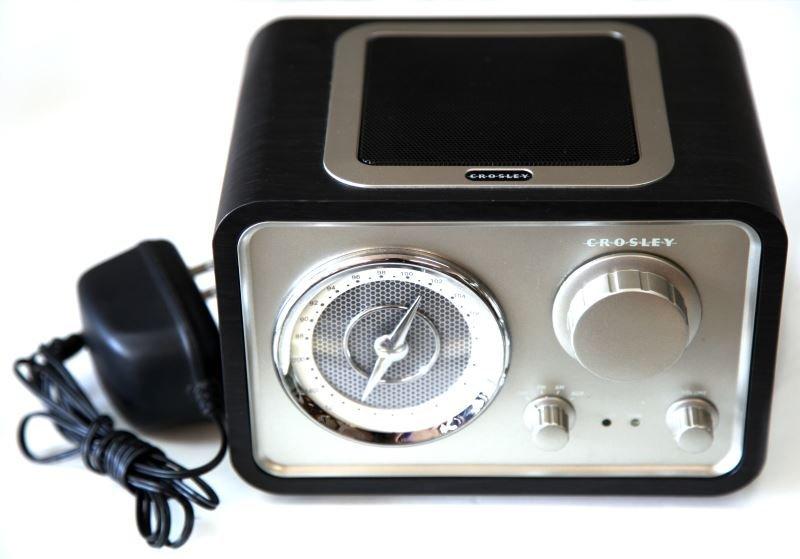 CROSLEY SOLO RADIO CR221 (BLACK) MP3 READY