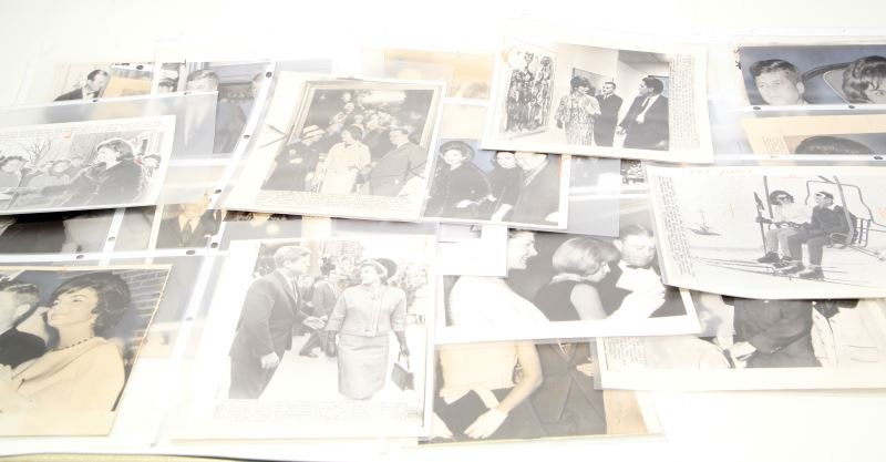 JACKIE KENNEDY PRESS PHOTO LOT 0F 29 CIRCA 1960's