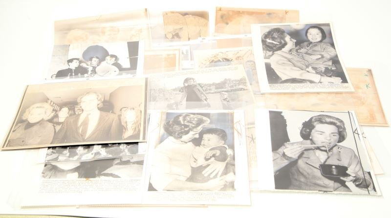 ROBERT AND ETHEL KENNEDY PRESS PHOTO LOT OF 24