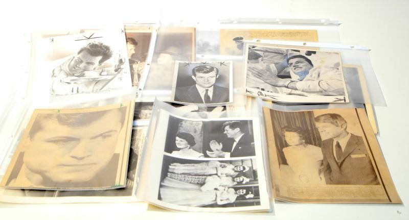 KENNEDY FAMILY PRESS PHOTO LOT OF 17