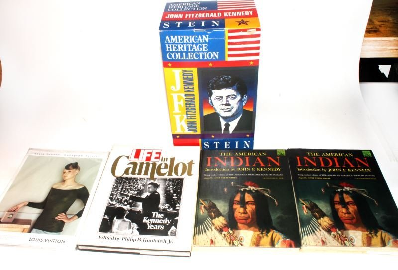 KENNEDY INTEREST CIGAR AFICIONADO STEIN CAMELOT