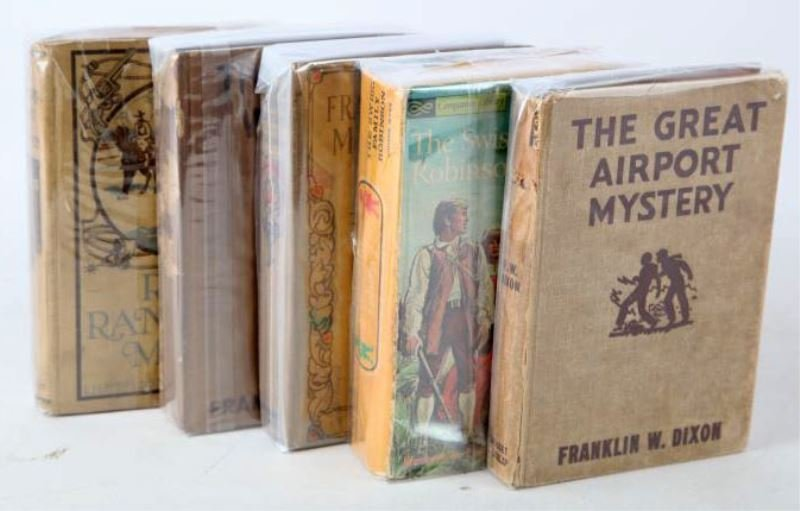 MIXED GROUPING OF VINTAGE FICTION BOOKS