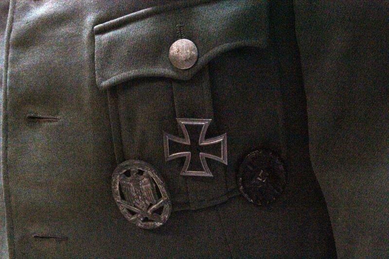 WWII GERMAN PANZER GRENADIER 62ND OFFICERS UNIFORM - 3