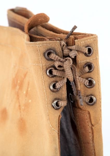 WWII GERMAN SS TROPICAL CAVALRY BOOTS VA103/44 SS - 3