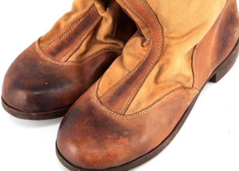 WWII GERMAN SS TROPICAL CAVALRY BOOTS VA103/44 SS - 4