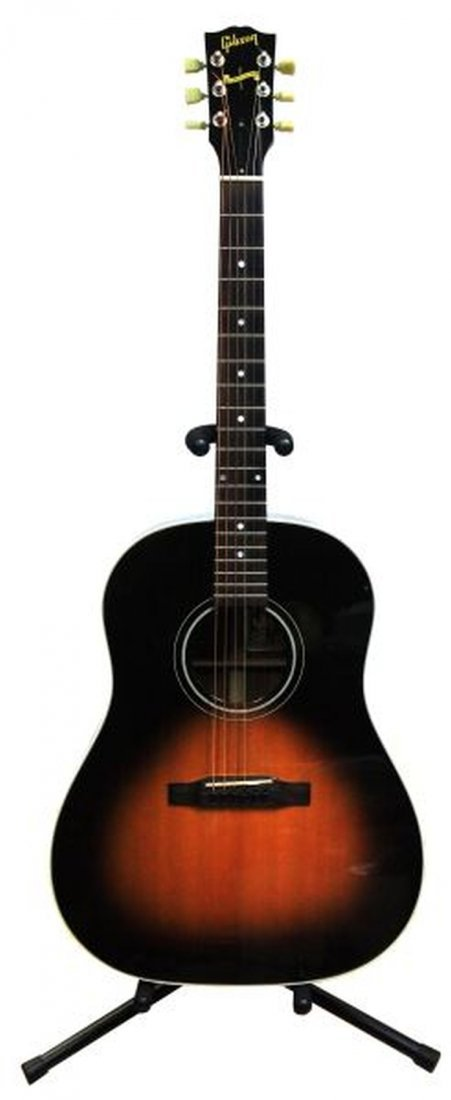 usa gibson j45 western anniv acoustic guitar