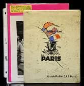 WWII LIBERATION OF PARIS SOUVENIR PHOTO LOT