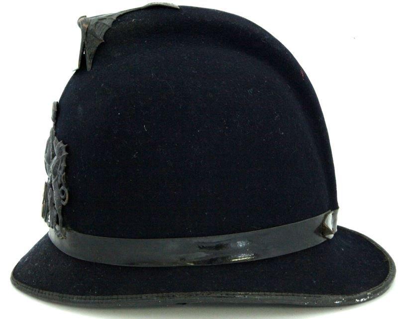 CITY OF LONDON VICTORIAN POLICE HELMET & BADGE - 2