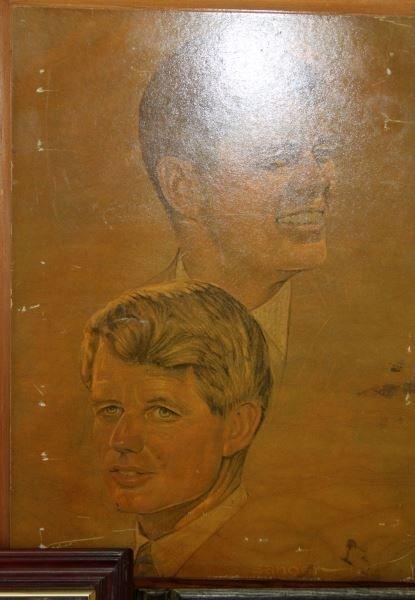 JFK COLLECTIBLES FRAMED WITH COMMEM HALF DOLLARS - 3