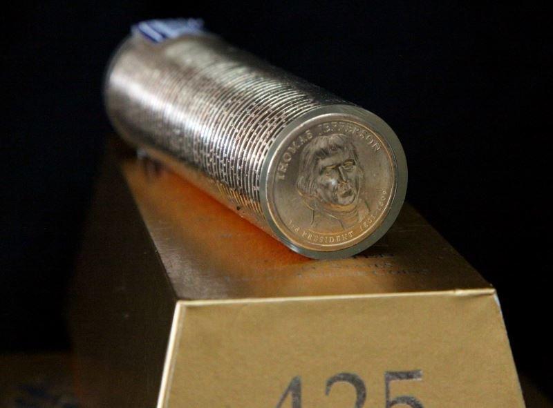 SIX 425 NET GRAMS U.S LEGAL TENDER BALLISTIC ROLL - 3