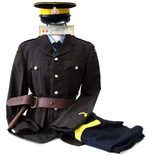 Rcmp Royal Canadian Mounted Police Vintage Uniform