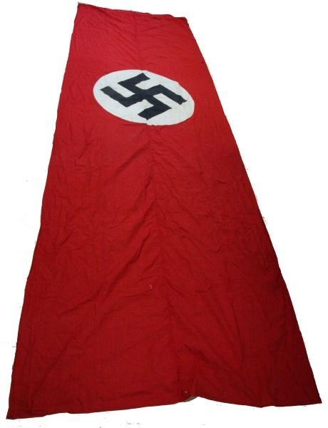 16 FT BY 5 FT WWII GERMAN THIRD REICH BANNER