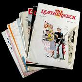 WWII US MARINE WALLA WALLA & LEATHERNECK MAGAZINES