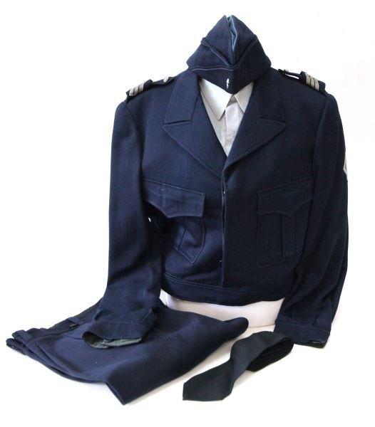 VINTAGE FRENCH NATIONAL POLICE UNIFORM