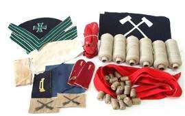SPANISH AMERICAN WAR CLOTH INSIGNIA SHOULDER LOOPS