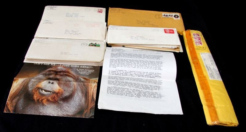 LATE 1979 LETTERS FROM SERIAL KILLER SON OF SAM