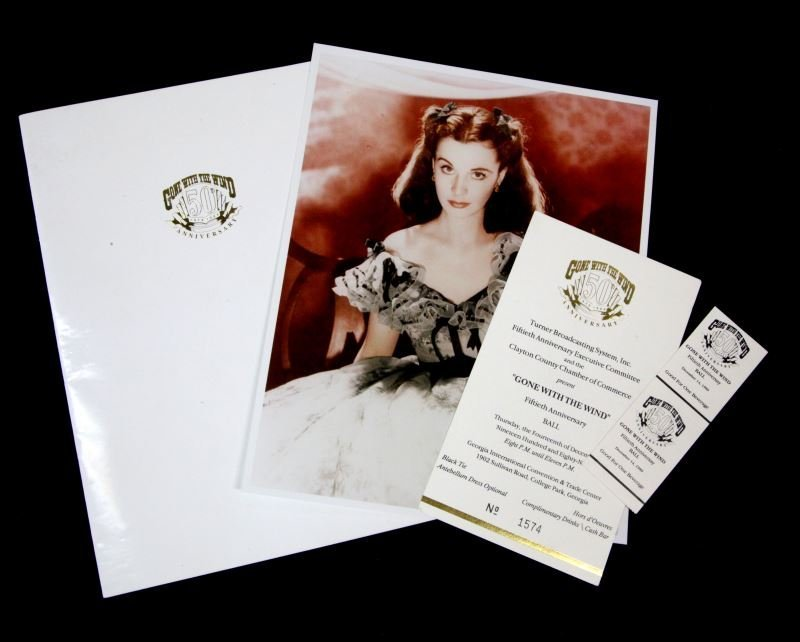 GONE WITH THE WIND 50TH ANNIVERSARY PROGRAM