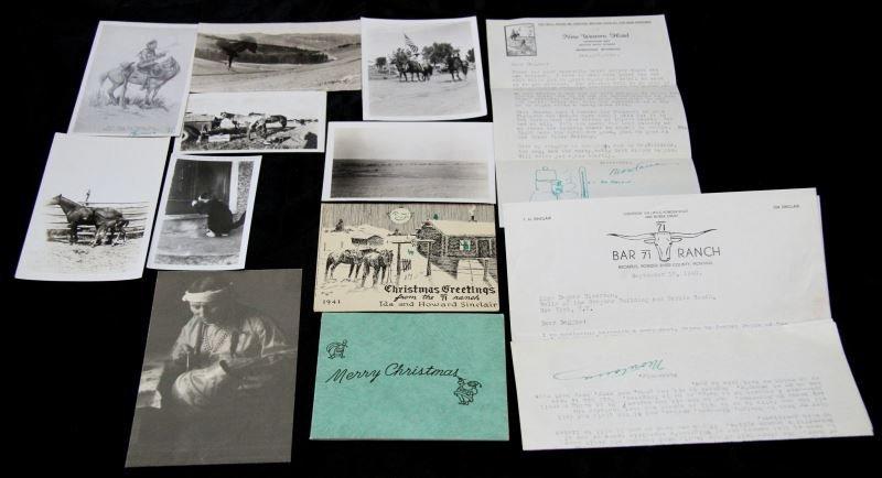 1940's BAR 71 RANCH MONTANA COWBOY PHOTOS