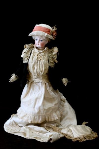 1880'S FASHION POUPEE DOLL BY FRANCOIS GAULTIER