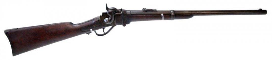 SHARPS 1852 CIVIL WAR CARBINE RIFLE W/ SADDLE RING