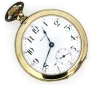 ANTIQUE 1906 WALTHAM GOLD FILLED POCKETWATCH