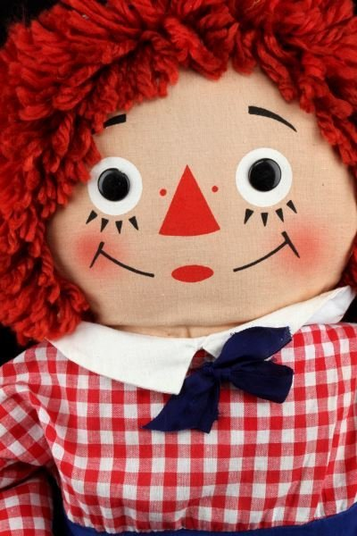 VINTAGE RAGGEDY ANN AND ANDY KNICKERBOCKER DOLLS - 2