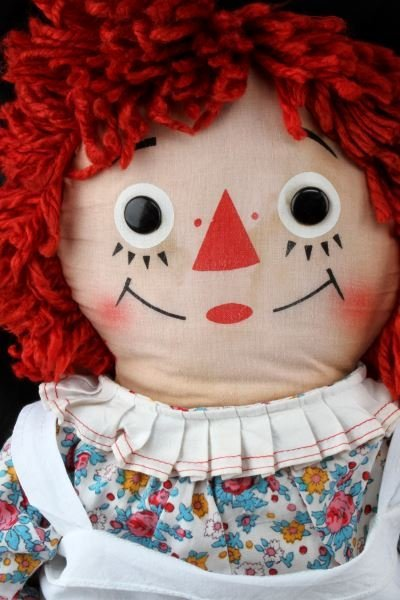 VINTAGE RAGGEDY ANN AND ANDY KNICKERBOCKER DOLLS - 3