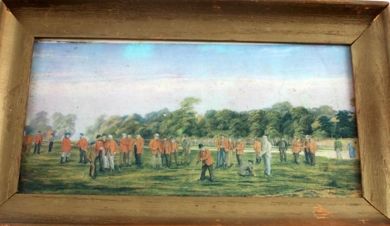 SIR FRANCIS POWELL GOLF AT BLACKHEATH GICLEE