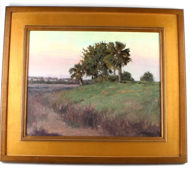 JOHN STANFORD OIL ON BOARD ST. MARKS FLORIDA