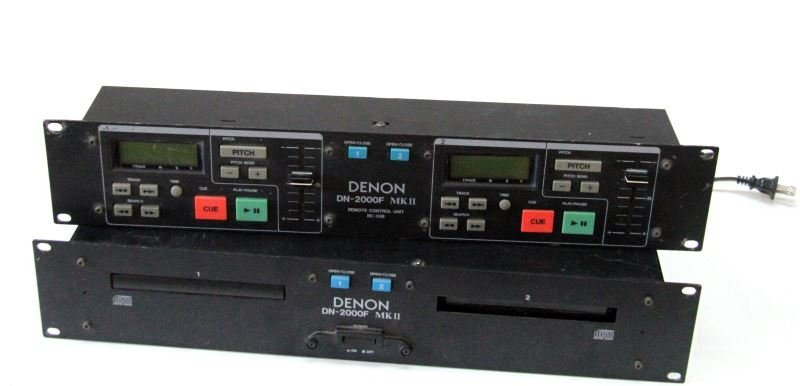DENON DN-2600F MKII W/RC-35B DOUBLE CD PLAYER