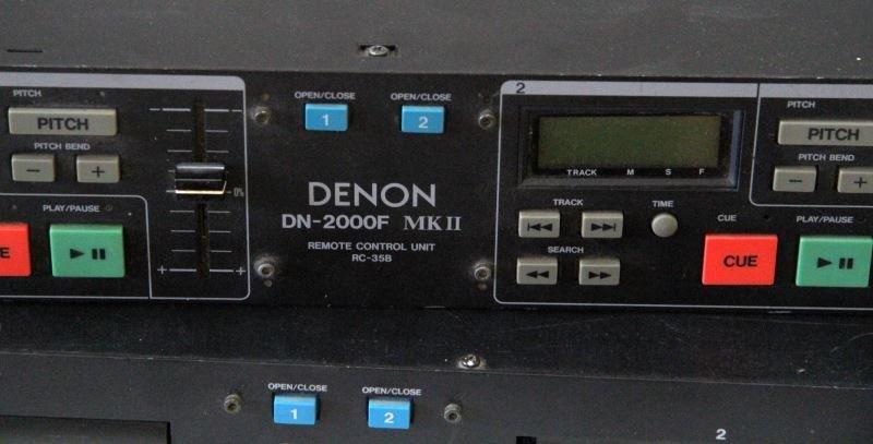 DENON DN-2600F MKII W/RC-35B DOUBLE CD PLAYER - 2