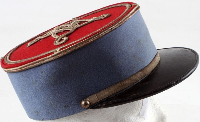 WWI FRENCH CAVALRY LIEUTENANT KEPI