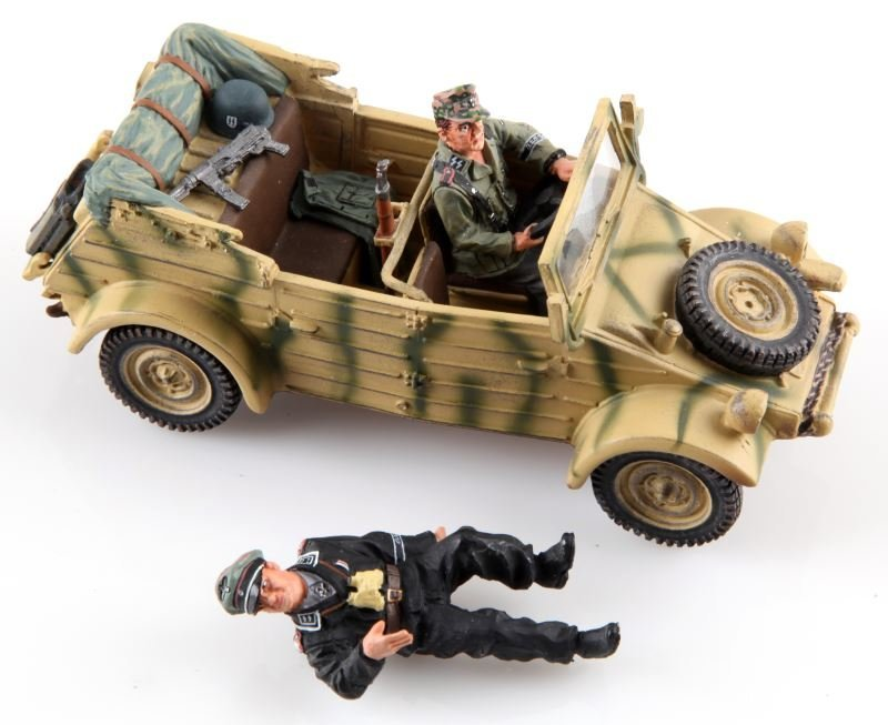 WWII KING & COUNTRY TOY SOLDIERS WS102 KUBELWAGEN - 3