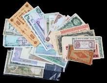 ENGLAND IRAQ MYANMAR RUSSIA WORLD BANKNOTE LOT