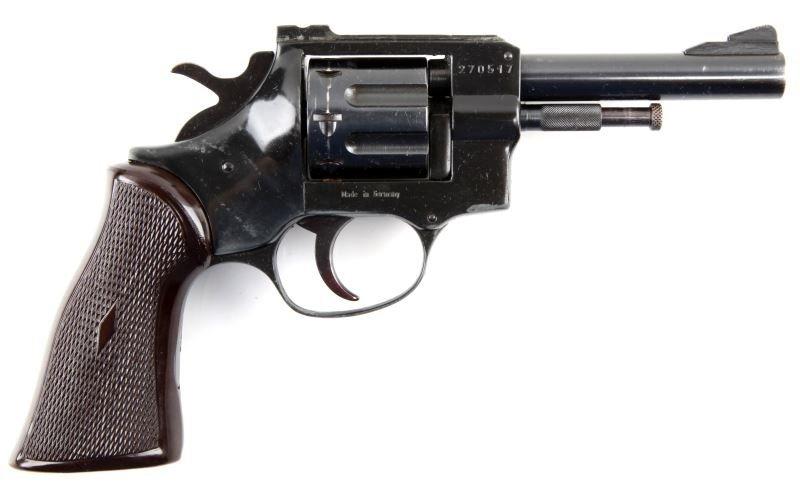 GERMAN MADE ARMINIUS HW5  22 CAL  8 SHOT REVOLVER