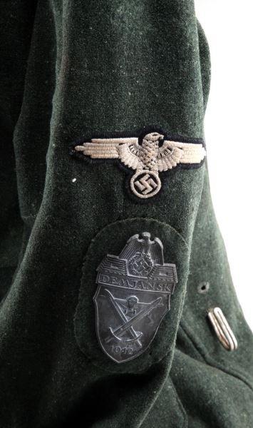 WWII GERMAN SS M1936 3RD TOTENKOPF DIV UNIFORM - 3