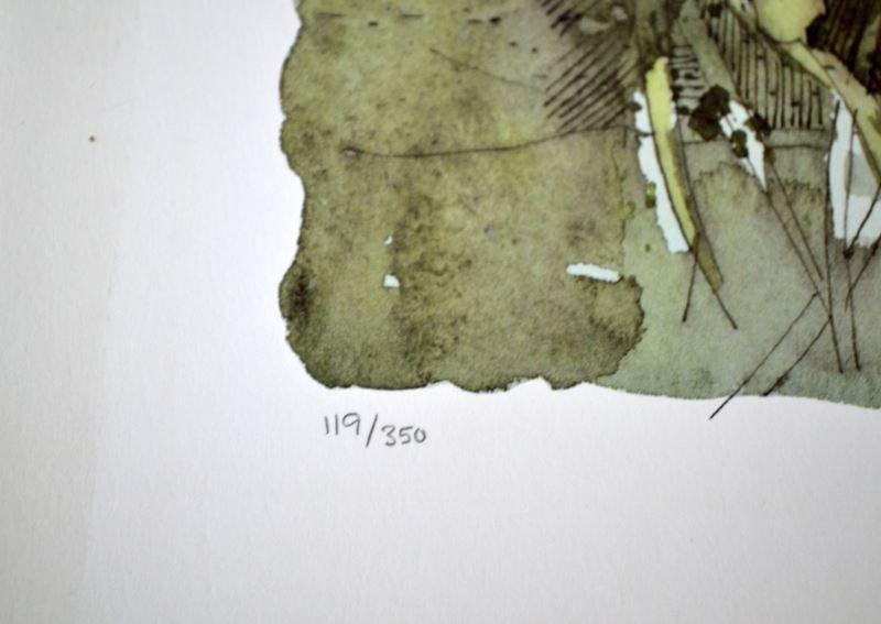 SHIRLEY TREVENA WHITE DAISIES SIGNED PRINT 119/350 - 3