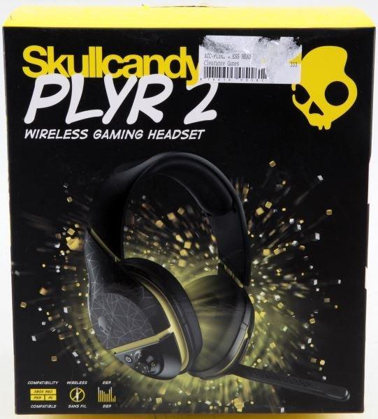 SKULLCANDY PLYR 2 WIRELESS GAMING HEADSET IN BOX