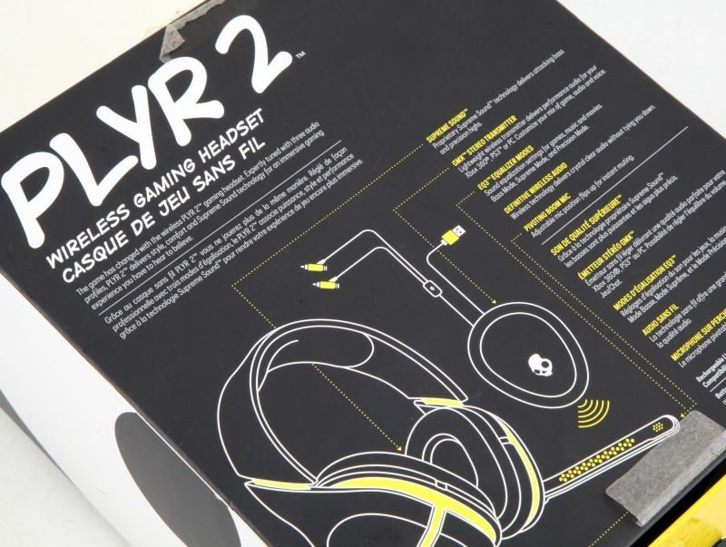 SKULLCANDY PLYR 2 WIRELESS GAMING HEADSET IN BOX - 2