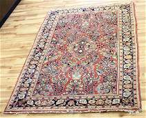 VINTAGE HAND WOVEN PERSIAN WOOL RUG 6 10 X 4