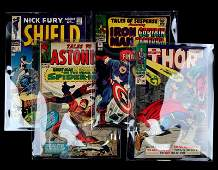 12 CENTS MARVEL TALES OF ASTONISH NICK FURY  MORE