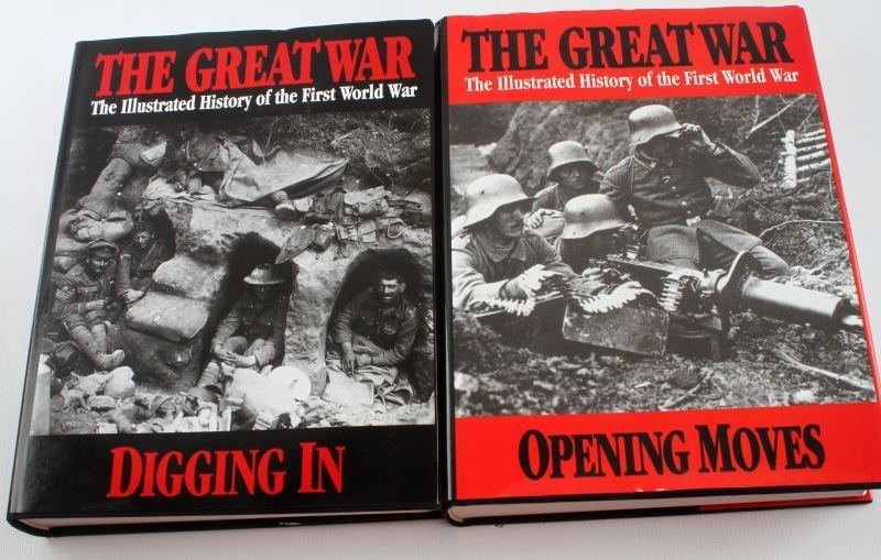 THE GREAT WAR: ILLUSTRATED HISTORY VOL I AND II