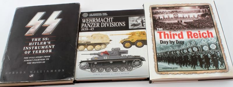 LOT OF THREE THIRD REICH BOOKS HARDCOVER LARGE