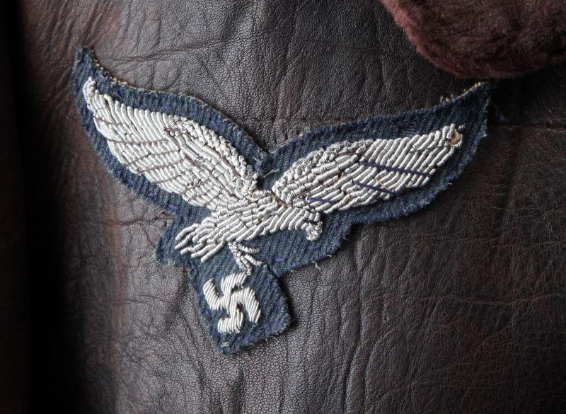 WWII GERMAN THIRD REICH LUFTWAFFE FLIGHT JACKET - 6