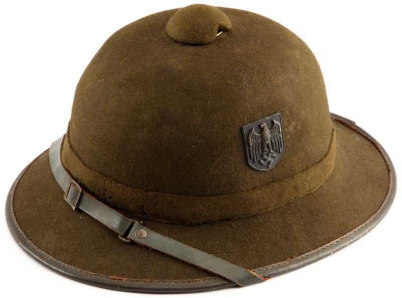 1fbcec78597b1 WWII GERMAN TROPICAL PITH HELMET AFRIKA KORPS