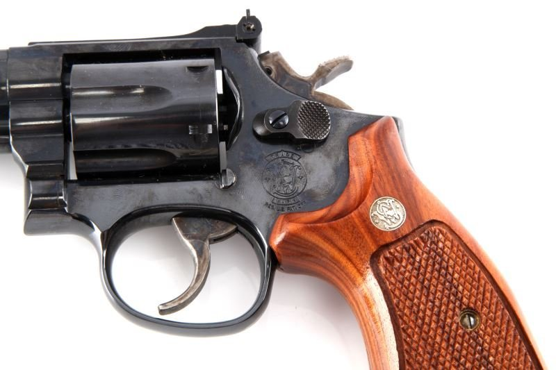SMITH AND WESSON MODEL 19-6 .357 MAGNUM REVOLVER - 3