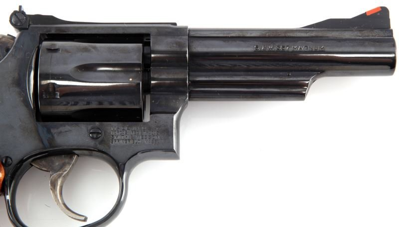 SMITH AND WESSON MODEL 19-6 .357 MAGNUM REVOLVER - 5