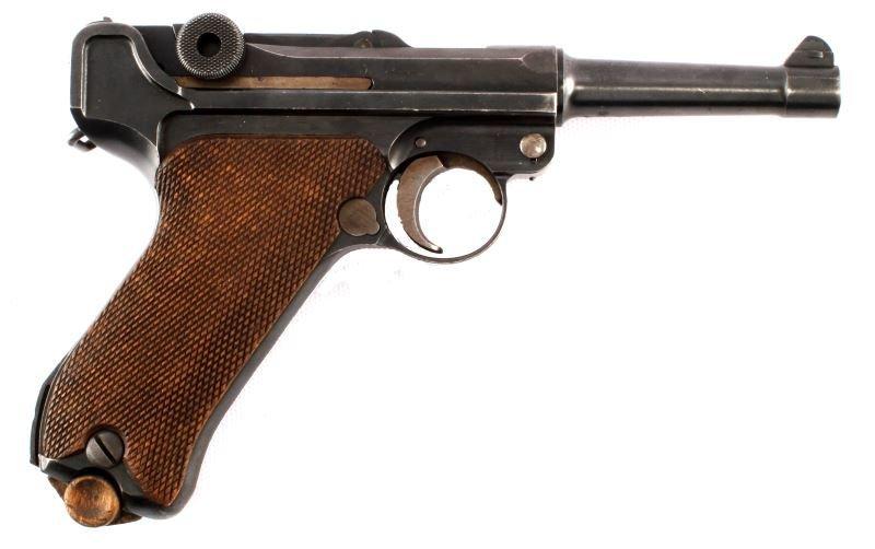 1920 COMMERCIAL DWM LUGER .30 CAL GESICHERT SEMI
