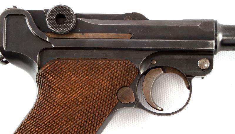 1920 COMMERCIAL DWM LUGER .30 CAL GESICHERT SEMI - 2